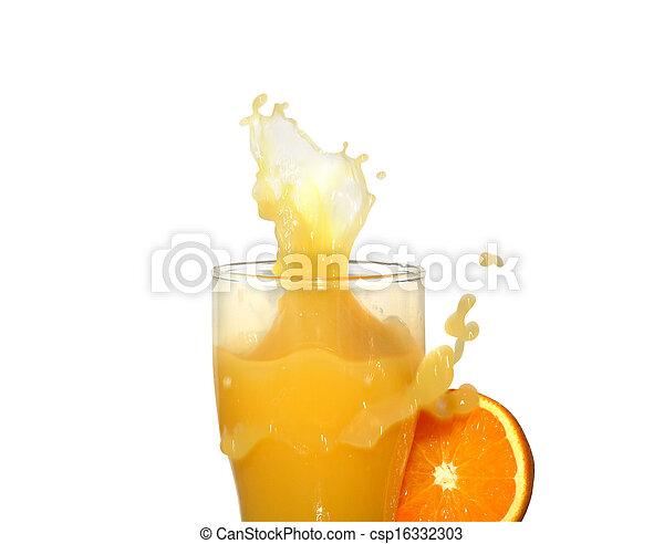 Orange Juice - csp16332303