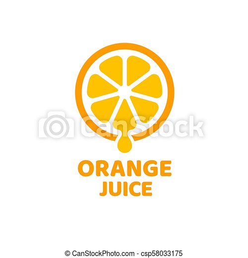 Orange juice symbol
