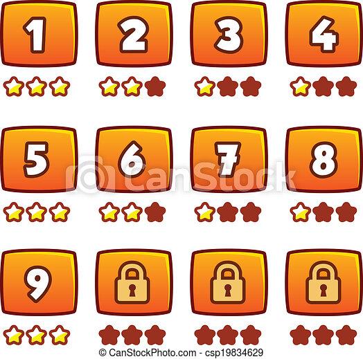 Orange level selection - csp19834629