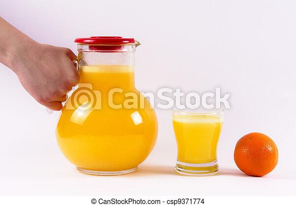 Orange life - csp9371774
