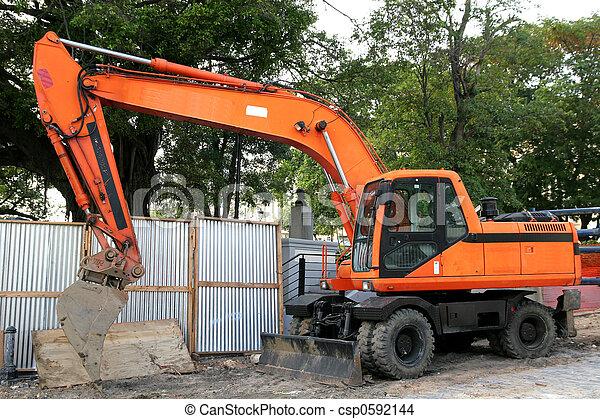Orange Loader - csp0592144
