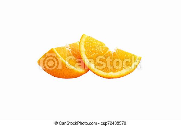 orange on white background - csp72408570