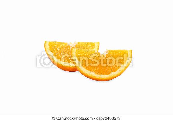 orange on white background - csp72408573