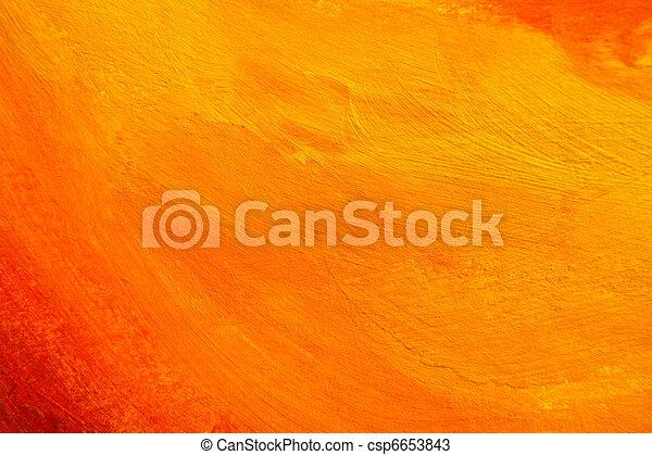 orange painted texture - csp6653843