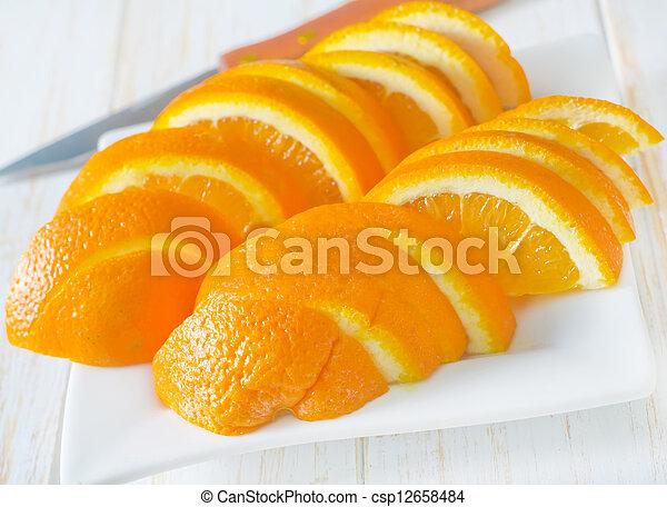 Orange - csp12658484