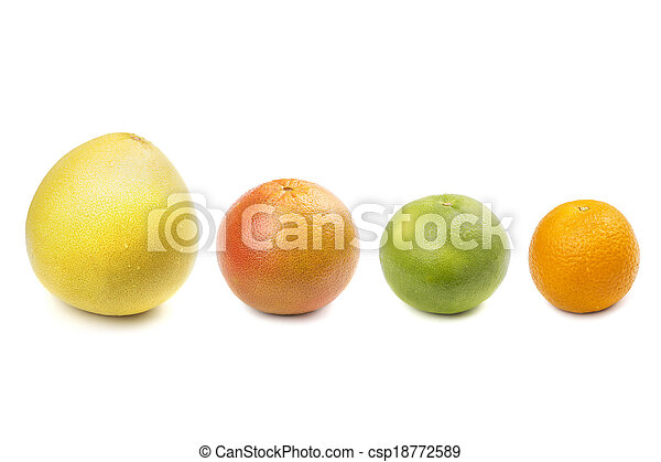 Pomelo, Grapefruit, Süße, Orange - csp18772589