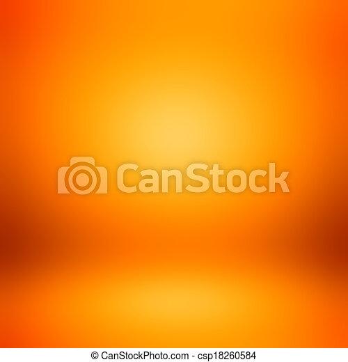 orange, résumé, coloré, fond - csp18260584