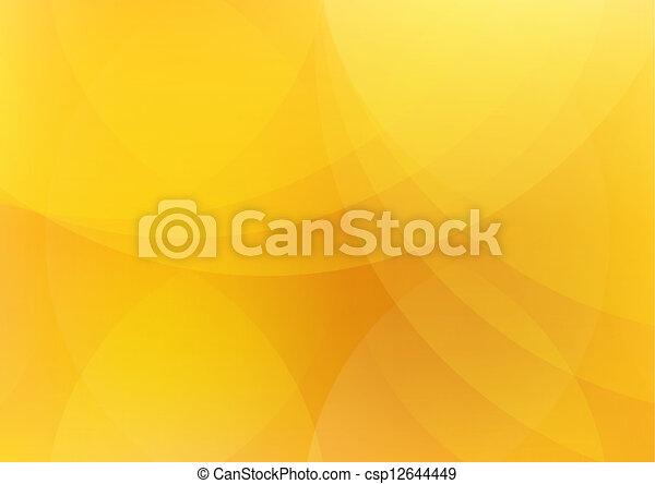 orange, résumé, papier peint, fond, jaune - csp12644449