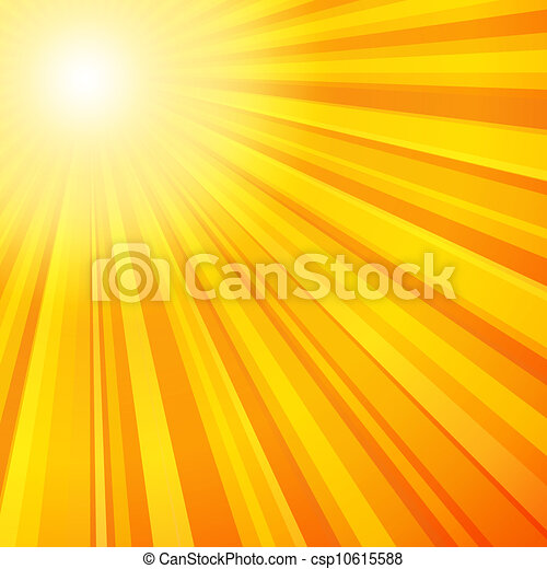couleur rayon soleil