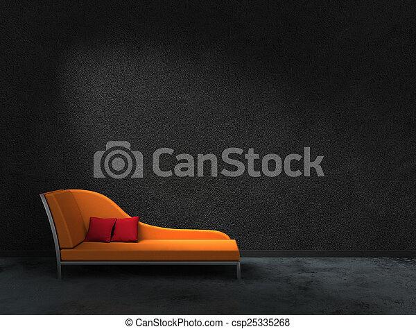 orange, recamier - csp25335268