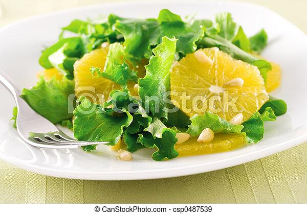 Orange Salad - csp0487539