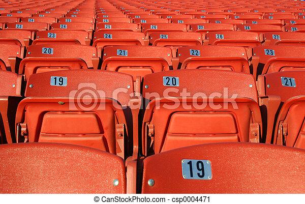 Orange Seats 2 - csp0004471