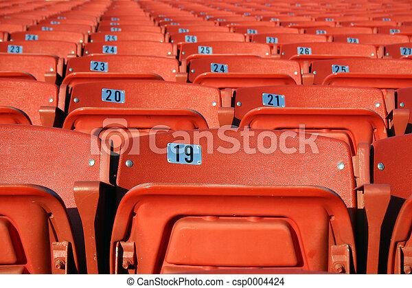 Orange Seats - csp0004424