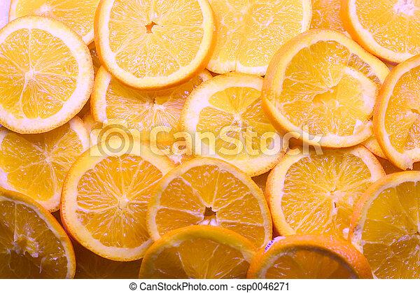 Orange Slices - csp0046271