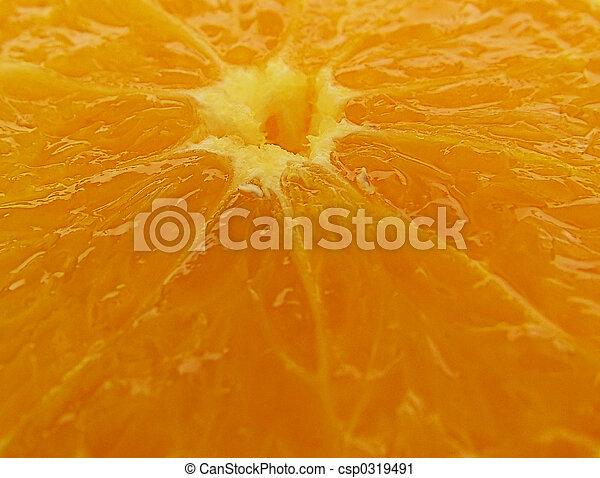 Orange slices - csp0319491
