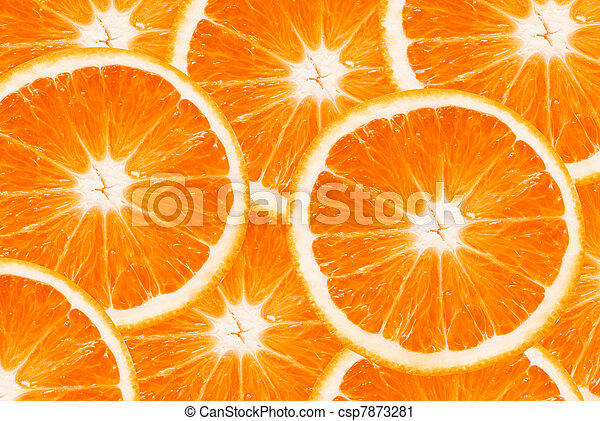orange slices - csp7873281