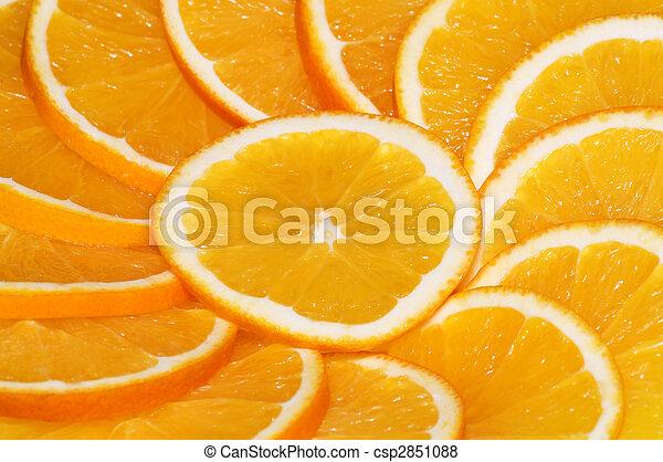 orange slices - csp2851088