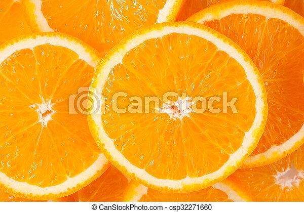 Orange slices - csp32271660