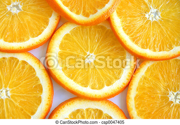 Orange Slices - csp0047405