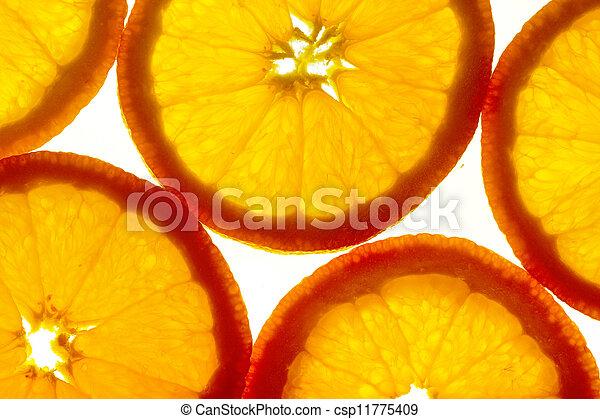 Orange slices - csp11775409