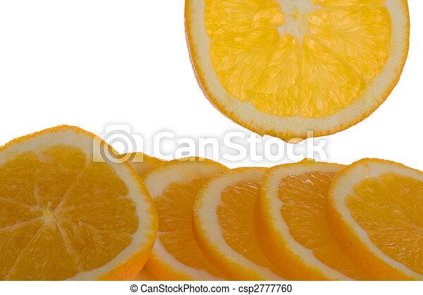 Orange slices - csp2777760