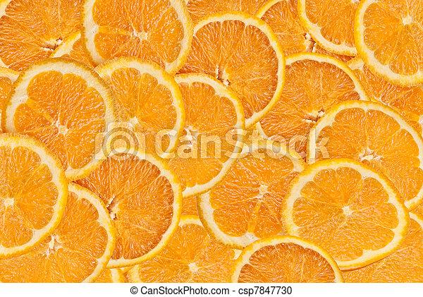 orange slices - csp7847730