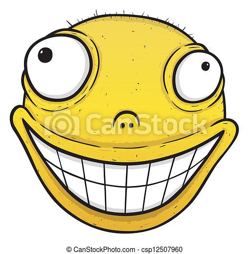 Orange smile - csp12507960