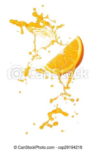 orange splash - csp29194218