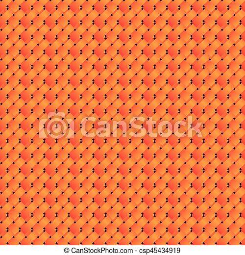 orange square and point figures icon - csp45434919