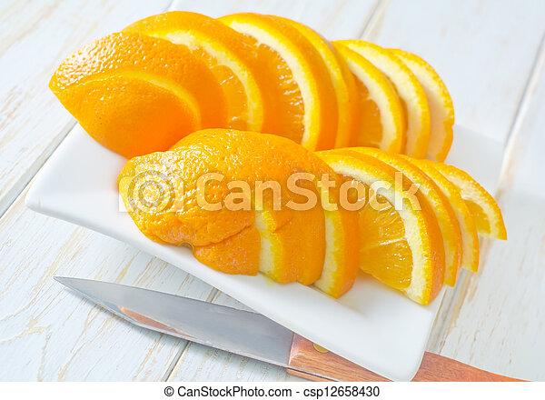 Orange - csp12658430