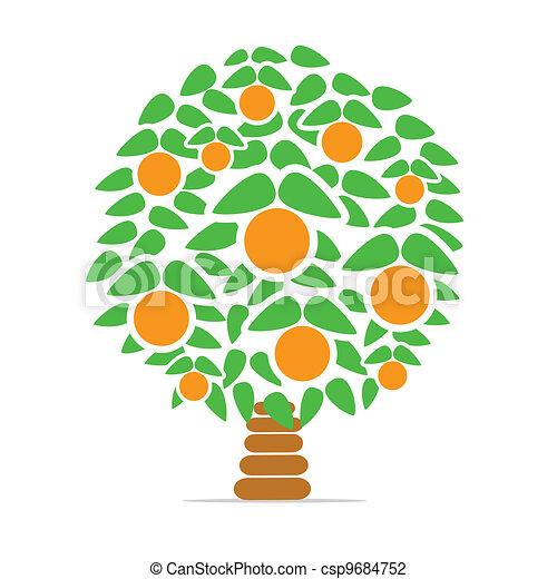 Orange-tree - csp9684752