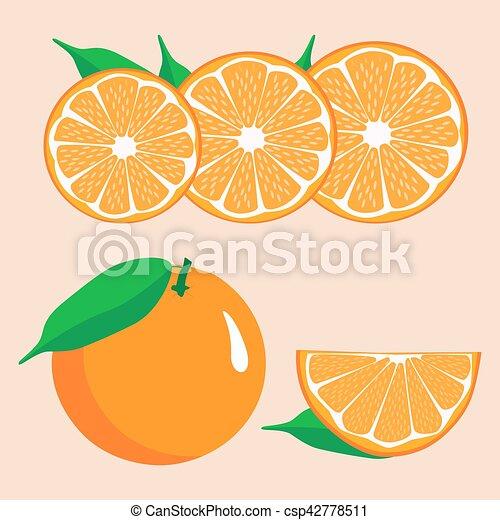 orange - csp42778511