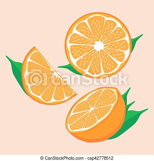 orange - csp42778512