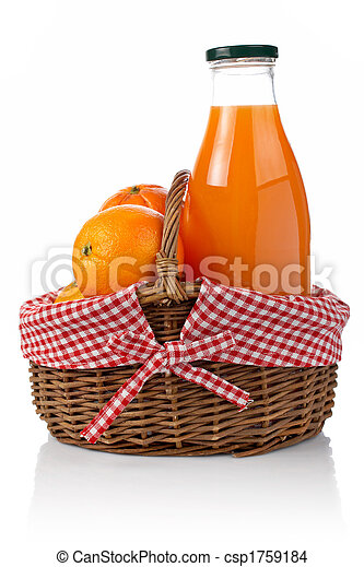 Oranges and fresh juice - csp1759184