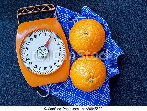 Oranges and scales - csp20845893