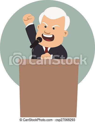 The master orator