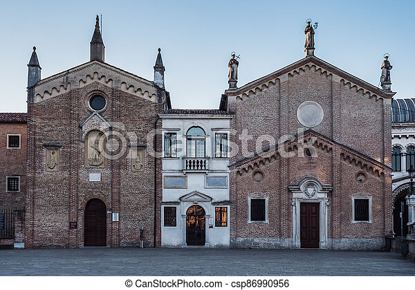 Oratory of Saint George, Scuola del Santo and Archconfraternity of St Anthony of Padua Chapels - csp86990956