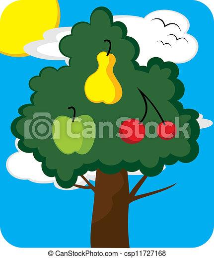 Orchard tree - csp11727168
