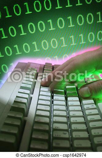 ordenador teclado - csp1642974