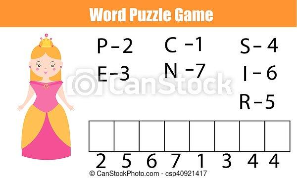 Order., erzieherisch, recht, briefe, wörter, vokabeln, puzzel, spiel ...