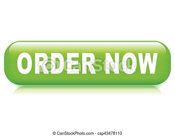 order now button - csp43478110
