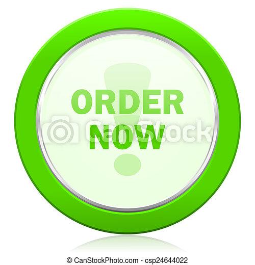 order now icon - csp24644022