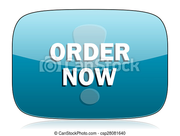 order now icon - csp28081640