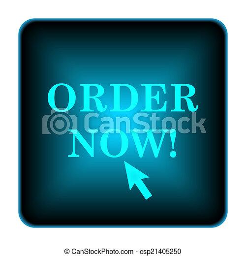 Order now icon - csp21405250