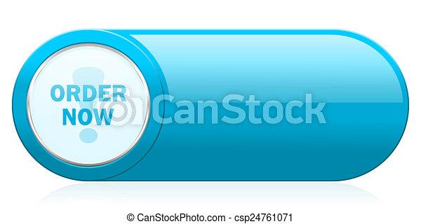 order now icon - csp24761071