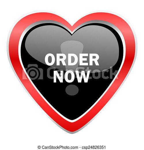 order now icon - csp24826351