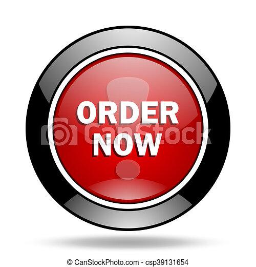 order now icon - csp39131654