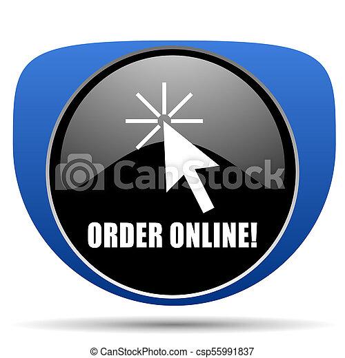 Order online web icon - csp55991837