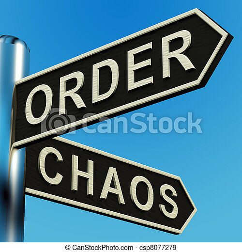Order Or Chaos Directions On A Signpost - csp8077279