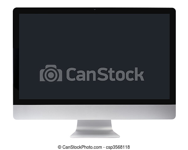 ordinateur pc, lisser, moniteur - csp3568118
